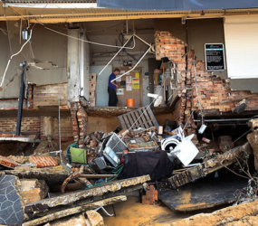 Lives lost, property ripped up in storms