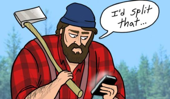 Ultimately, there's a dating app for all the love-starved lumberjacks available