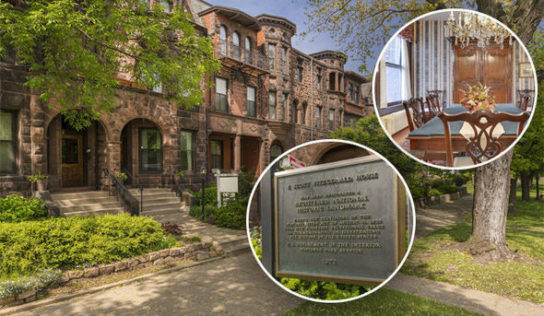 Home of first-rate Gatsby writer F Scott Fitzgerald on sale for underneath £500k