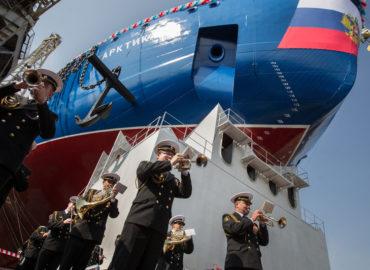 Russia Launches global's biggest, maximum effective Icebreaker