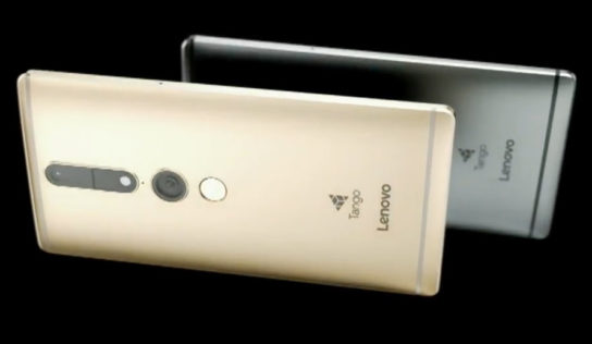 Google's three-D sensing assignment Tango tech in the end lands in a consumer phone