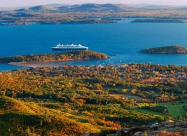 The arena's first-class cruise traces and ferry agencies