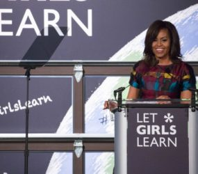 Michelle Obama asked women to construct solutions to improve get right of entry to training