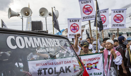 Indonesian government may additionally ban over eighty LGBT apps and web sites