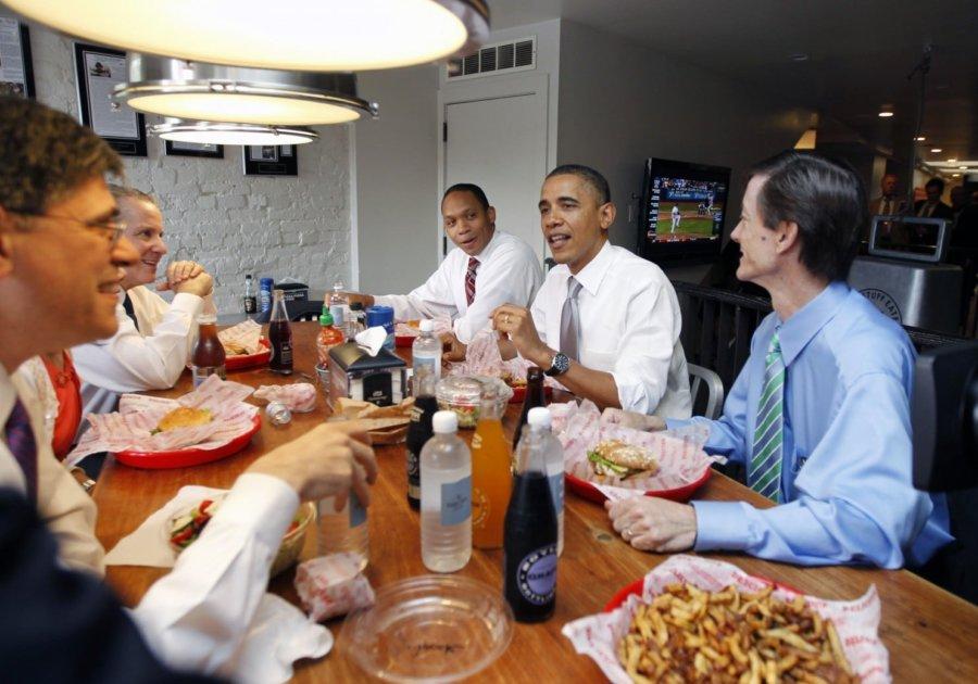 A lavish dinner sports and international relations
