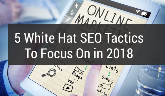 White Hat search engine marketing for 2018