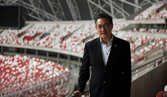 New Sports Hub CEO Oon Jin Teik is Mr Nice Guy