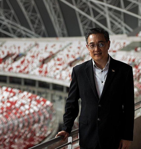 New Sports Hub CEO Oon Jin Teik is Mr Nice Guy