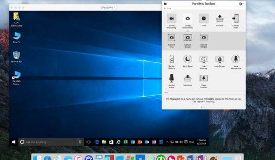 Parallels Toolbox for Mac and Windows gets cool new functions