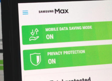 Samsung Max App With Data Saving and Privacy Protection
